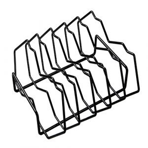 A rib rack with five slots