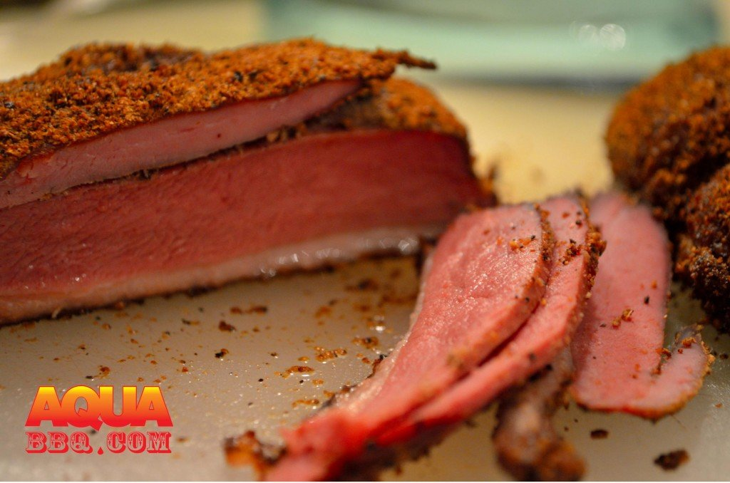 Primo Smoked Duck Breast Pastrami